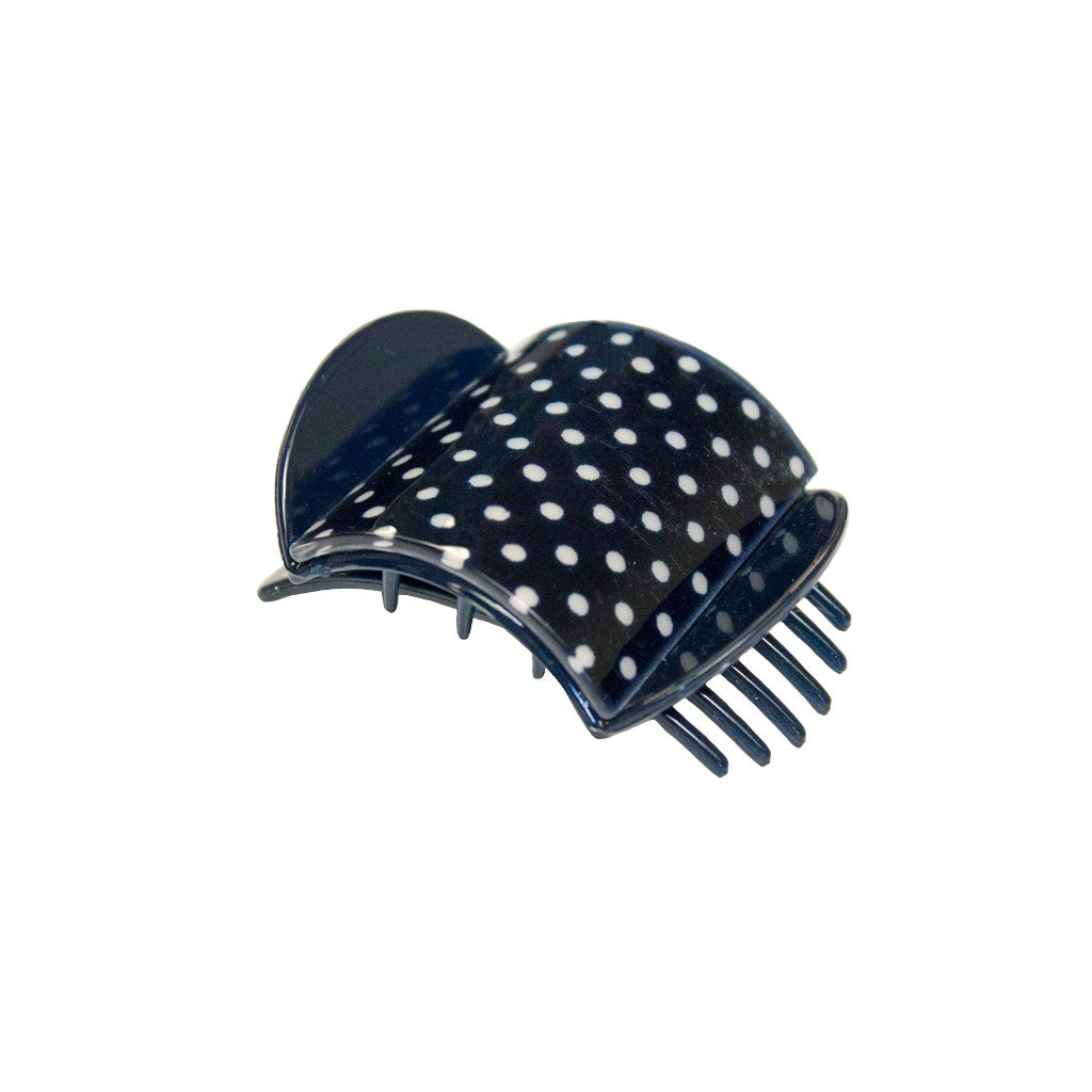 Super Clamp® - Navy Polka Dot - Mia Beauty