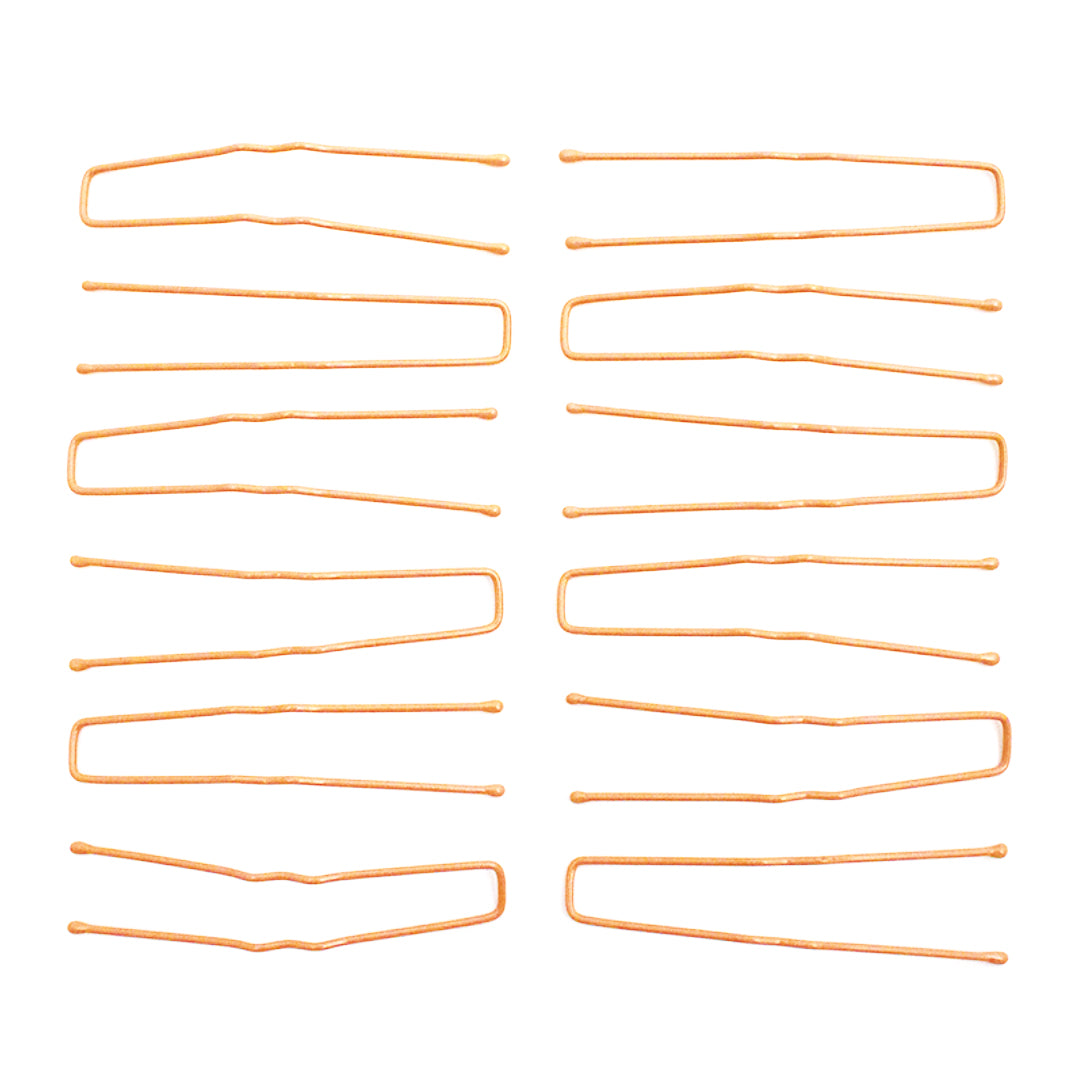 Mia® SqHair Pins - blonde color - 12 pieces - designed by #Mia Kaminski of Mia Beauty