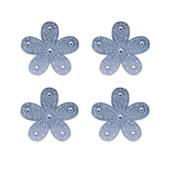 Hair Stickers® - Silver Flowers - Mia Beauty - 3