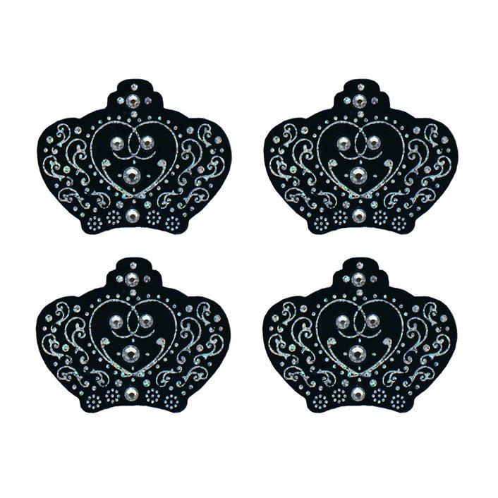 Hair Stickers® - Black Crowns - Mia Beauty - 1