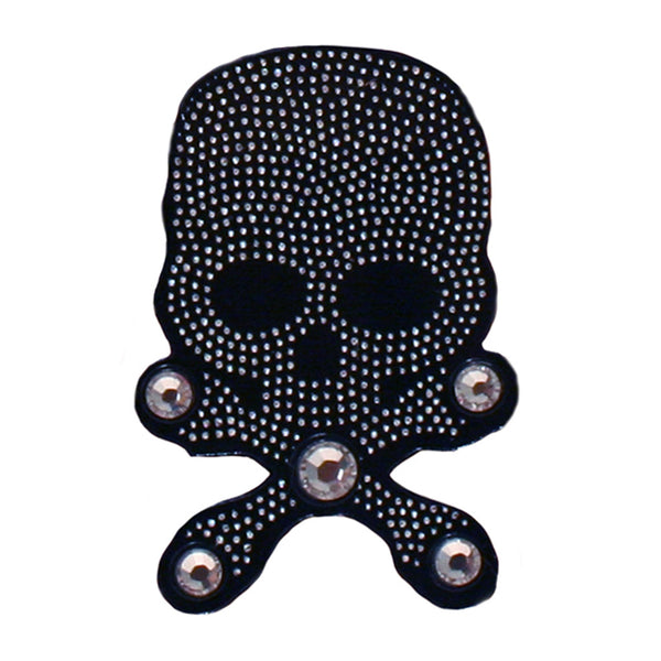 Hair Stickers® - Black Skulls with Crossbones
