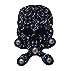 Mia® Hair Stickers® - large Black Skull with Crossbones - Mia Beauty - #MiaKaminski