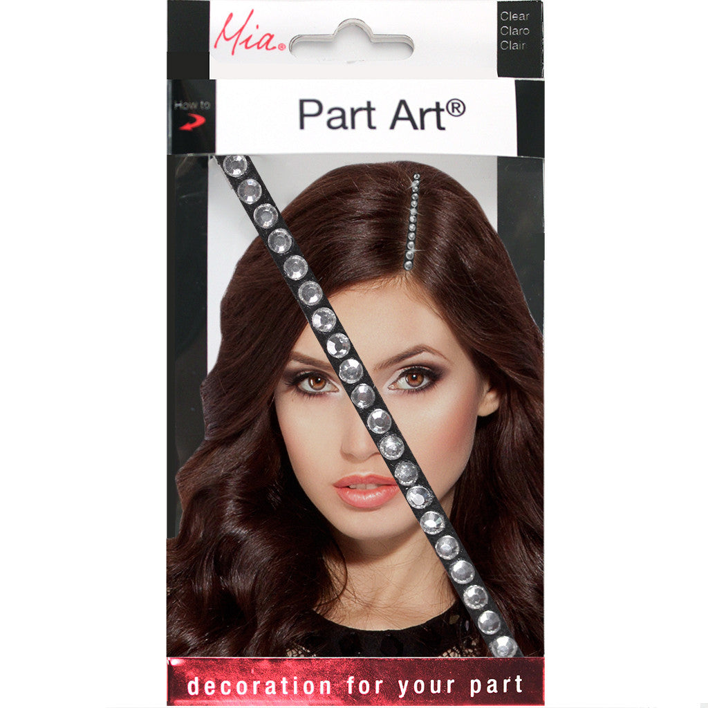 Part Art­® - Clear  Rhinestones - Mia Beauty invented by #MiaKaminski