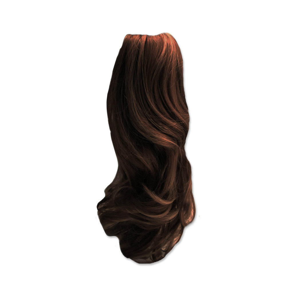 Mia® Clip-n-Pony® - Medium Brown - #MiaBeauty #MiaKaminski