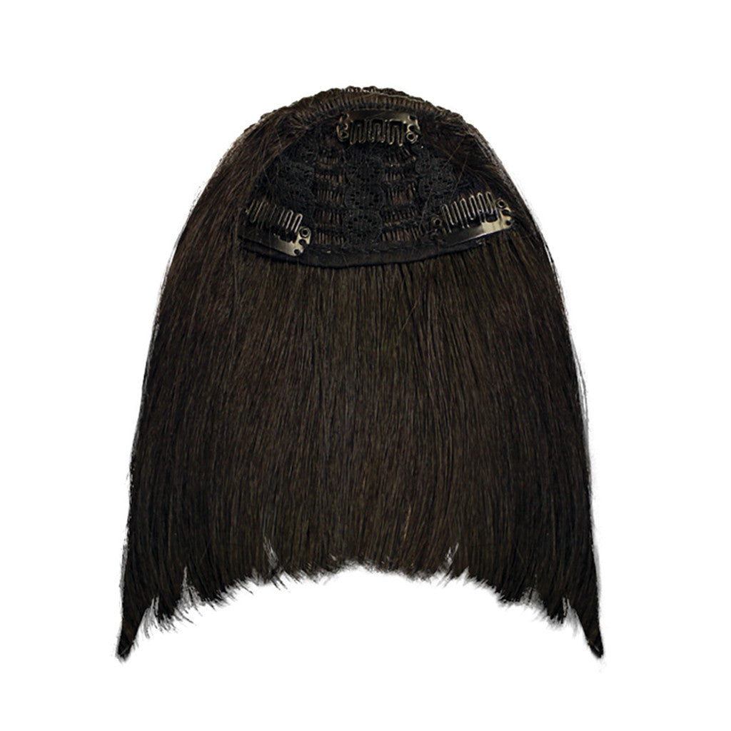 Mia® Clip-n-Bangs® - Black Color - designed by #MiaKaminski of #MiaBeauty