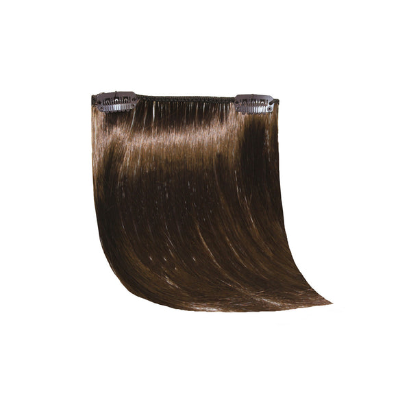 Clip-n-Side Bangs® - Medium Brown