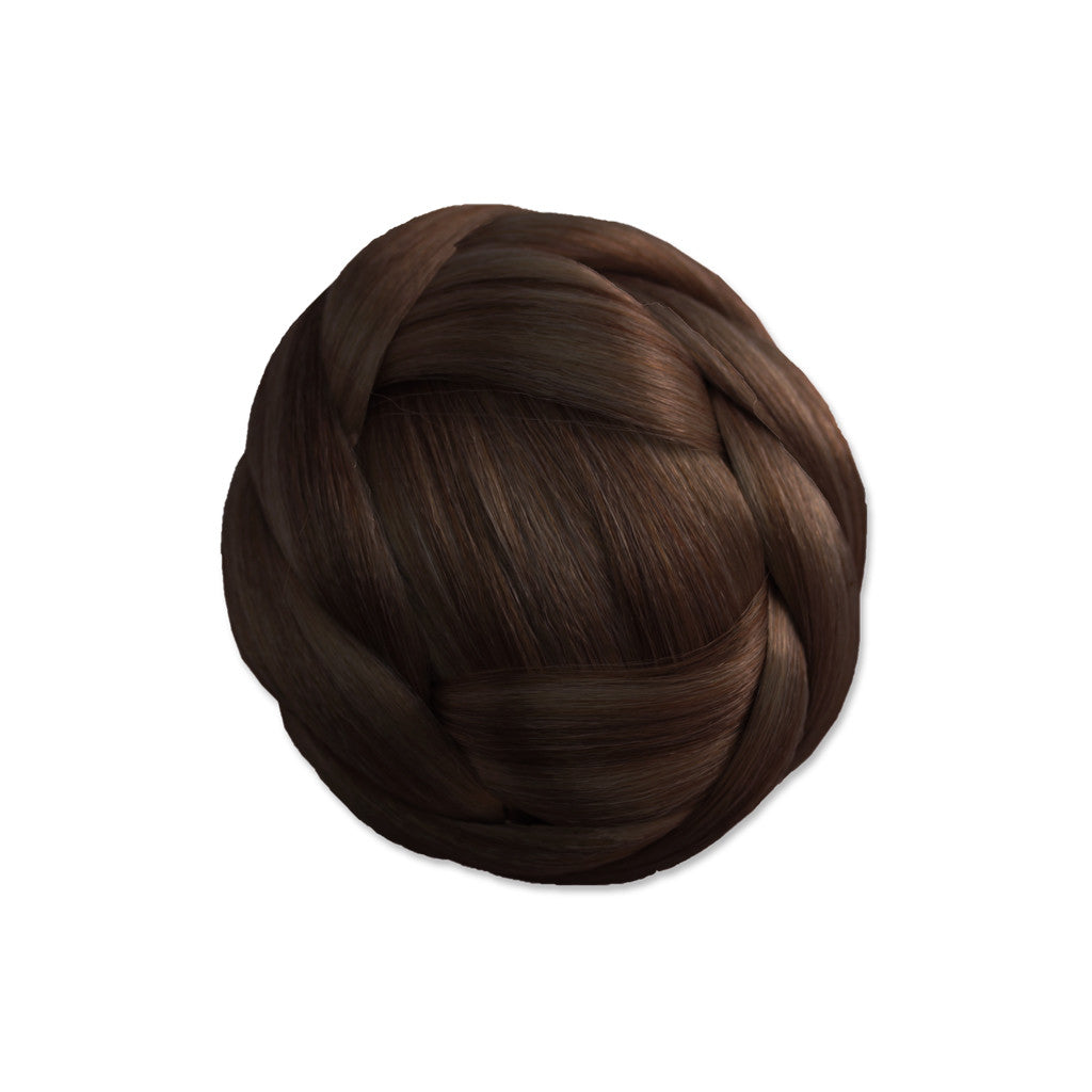 Clip-n-Bun® - Medium Brown - Mia Beauty