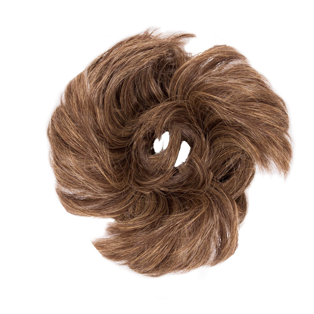 Fluffy Hair Ponywrap® - Light Brown - Mia Beauty