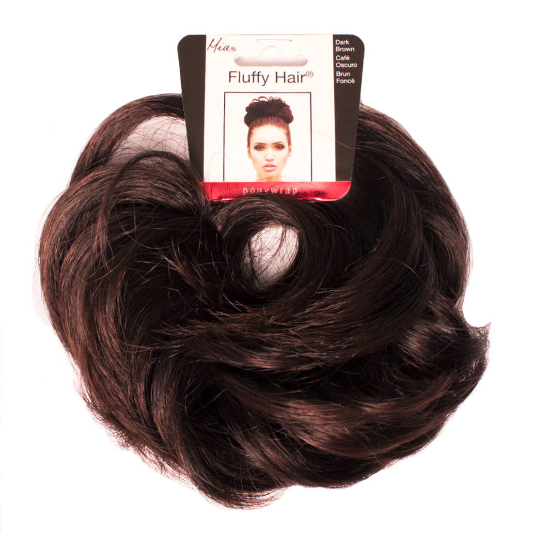 Fluffy Hair Ponywrap® - Dark Brown
