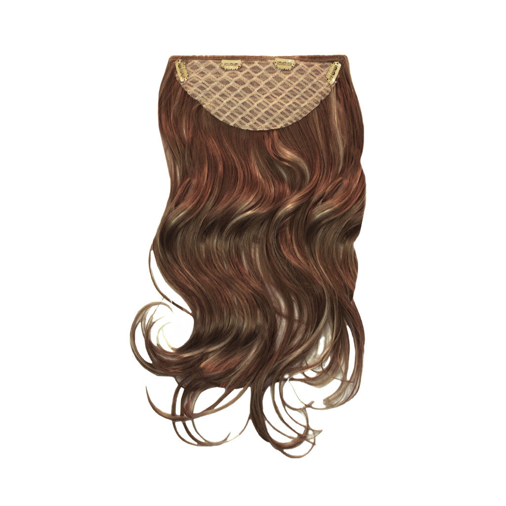 Clip-n-Hair® - Light Brown/Frosted - Mia Beauty