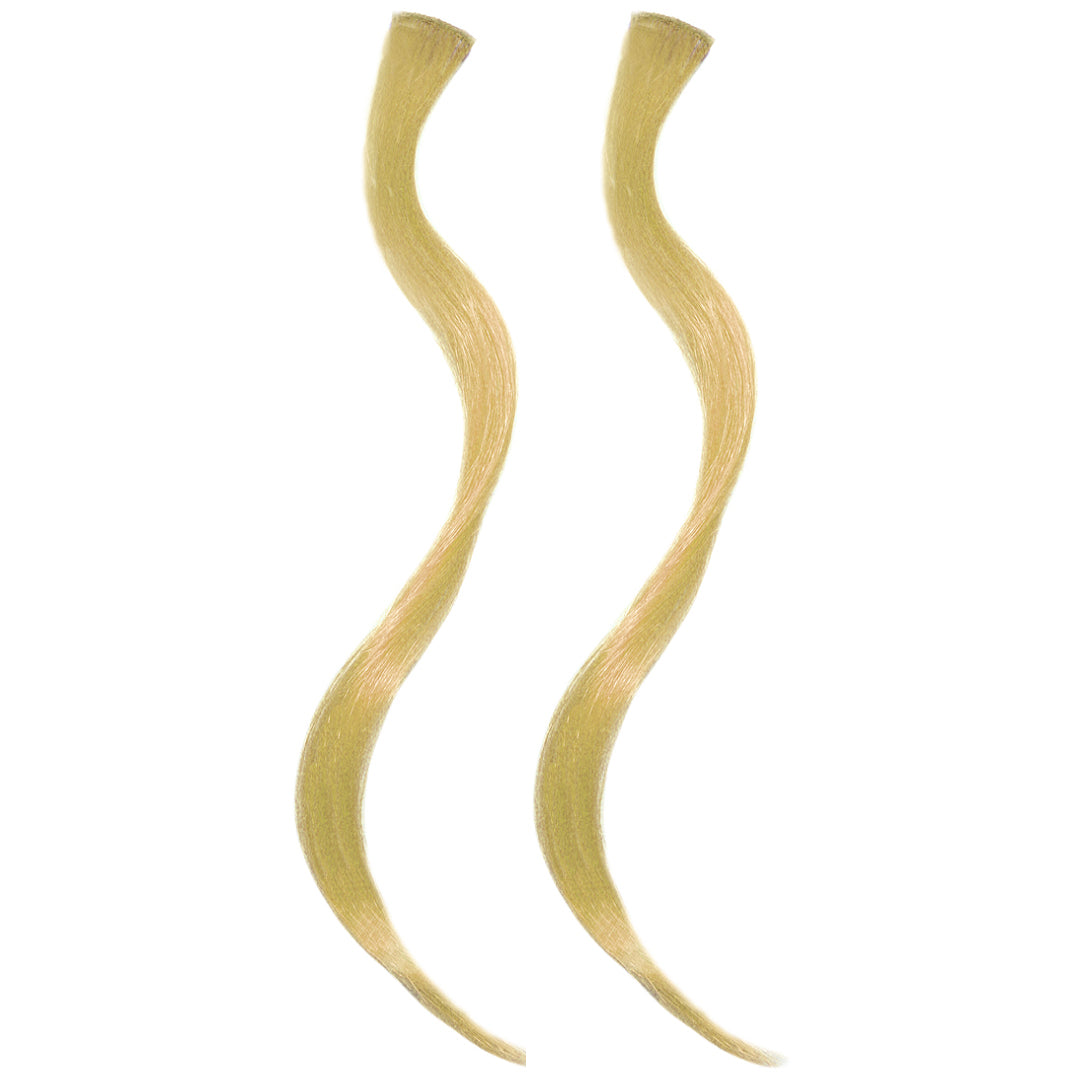 Mia® Clip-n-Color®, Clip On Hair Extension – synthetic wig hair  - Blonde Color - designed by #MiaKaminski of #MiaBeauty #Mia #Beauty #HairAccessories #SyntheticWigHair #extensions