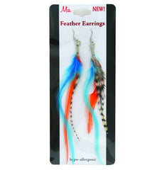 Feather Earrings - Mixed - Mia Beauty