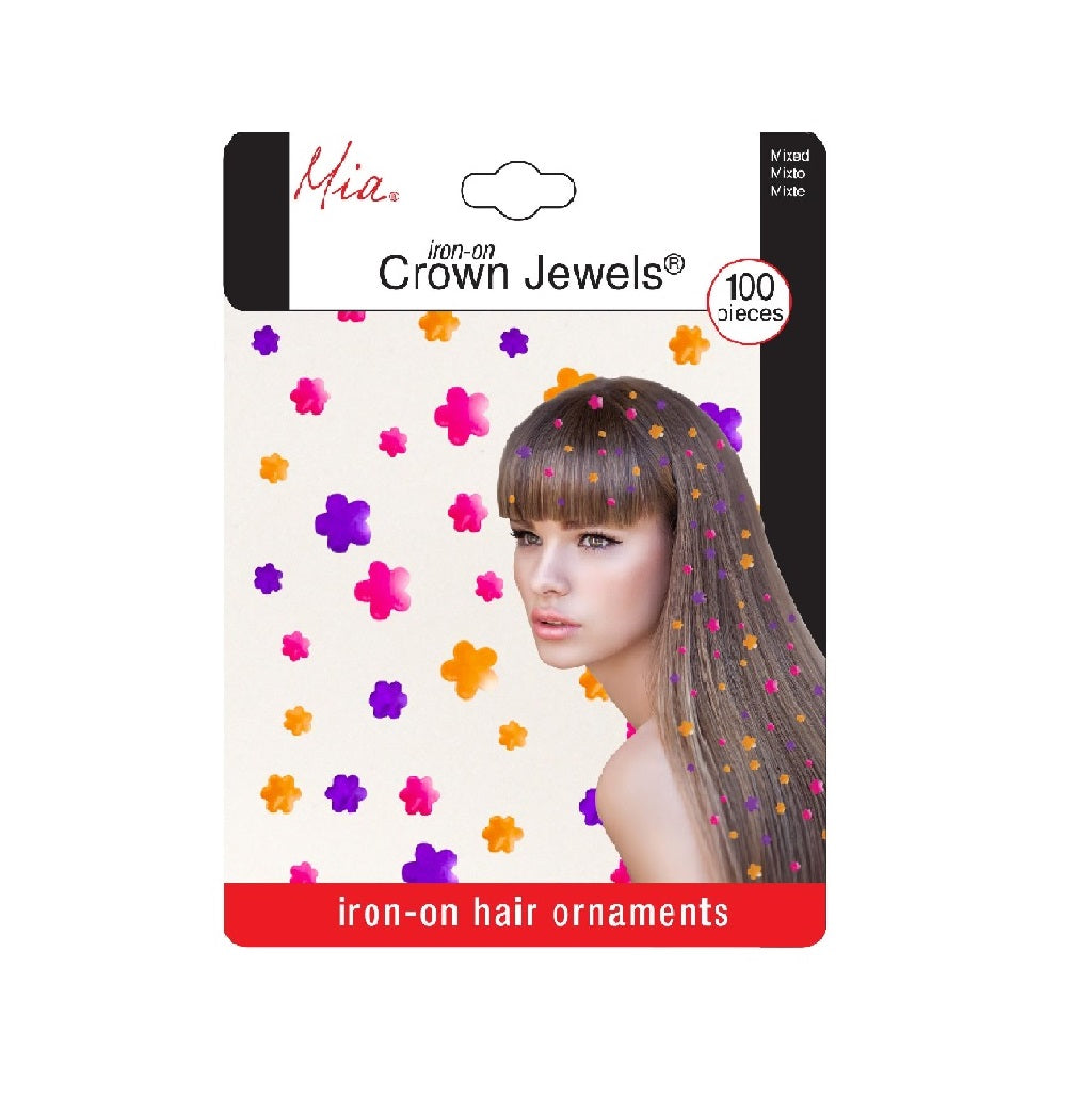 Mia® Crown Jewels® - Flowers - Neon Orange, Pink, Purple - Mia Beauty designed by #Mia Kaminski