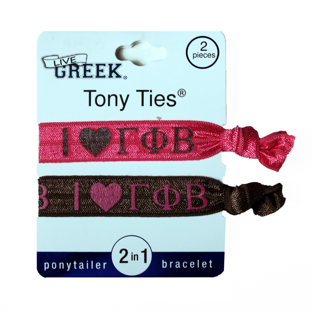 Tony Ties® - Gamma Phi Beta - I ♥ ΓΦΒ (2)