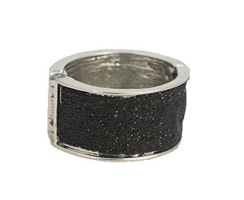 Tony Pony® - Metal Hair Ring - Black Glitter