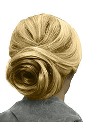 Swirl Bun™ - Blonde - in use on model