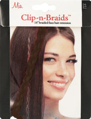 Clip-n-Braid™ - Dark Brown