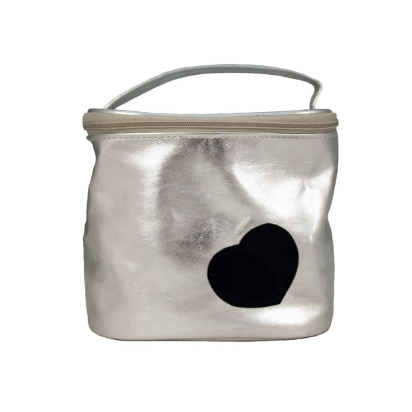 Cosmetic Bucket Bag - Heart Collection