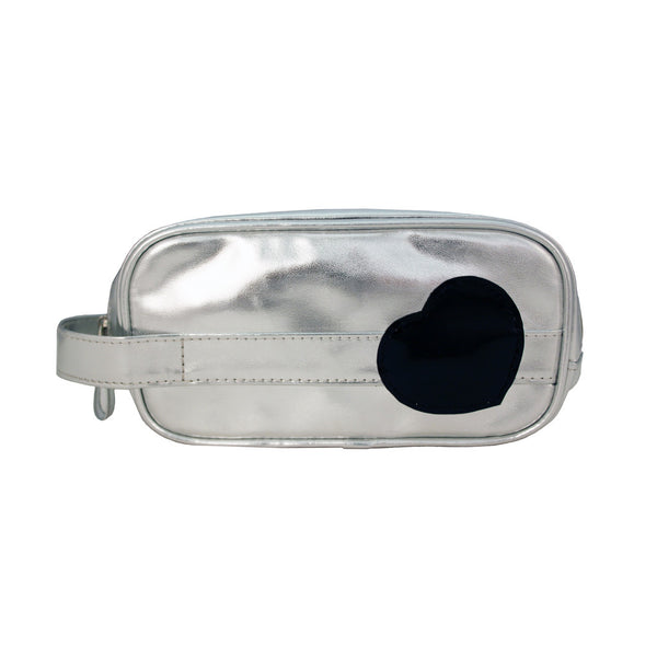 Cosmetic Brush Bag with Handle - Heart Collection