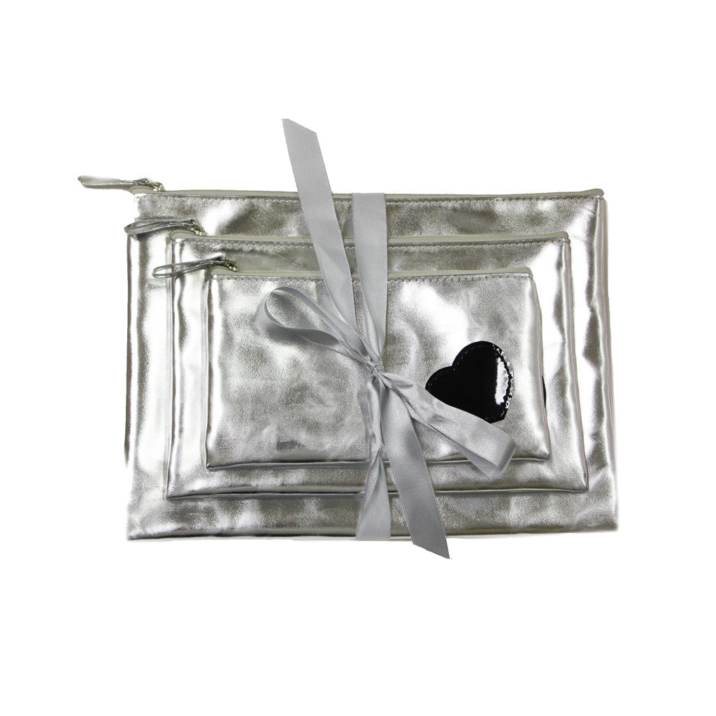 Cosmetic Bag Gift Set - Heart Collection - Mia Beauty