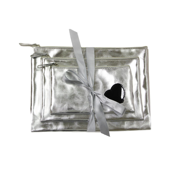 Cosmetic Bag Gift Set - Heart Collection