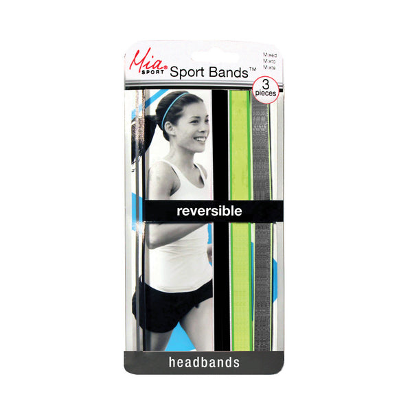 Sport Bands™ Reversible - Black, Green, Gray