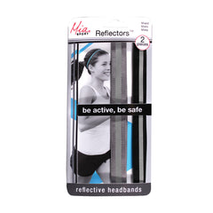 Mia® Sport Reflectors™ Headbands - Grey, Black - #MiaKaminski Mia Beauty