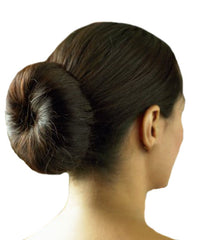 Mia® Bun Ease® - Black color - shown in hair - Mia® Beauty #MiaKaminski