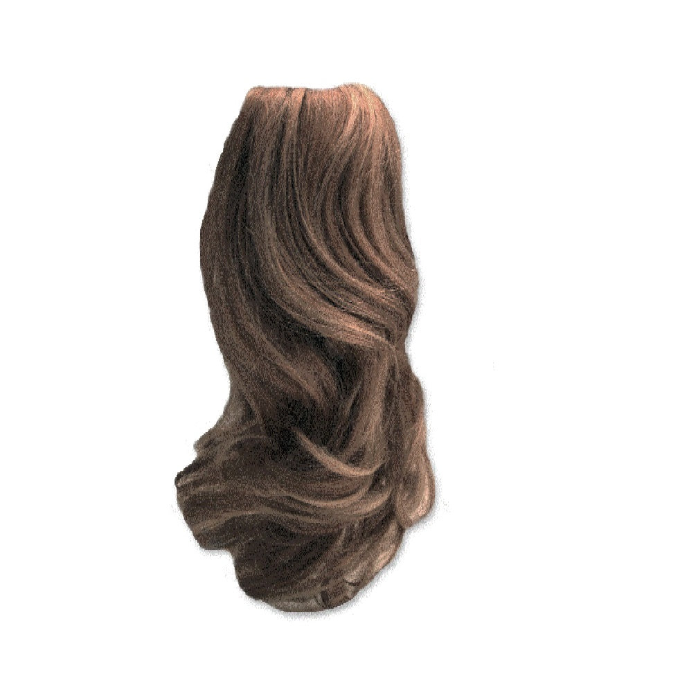 Mia® Clip-n-Pony - light brown color - off packaging - #MiaKaminski #MiaBeauty