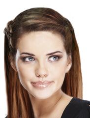 Mia®Ez-Twist hair styling tool - model twisted hair - by #MiaKaminski of Mia Beauty