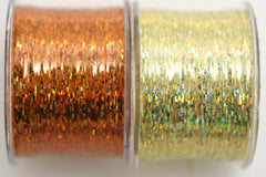 Bling String® - Hologram Orange + Gold