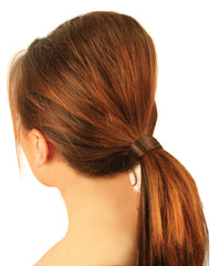 Mia®Ez-Tease® - Volumizing Hair Inserts in model's hair worn in ponytail - invented by #MiaKaminski