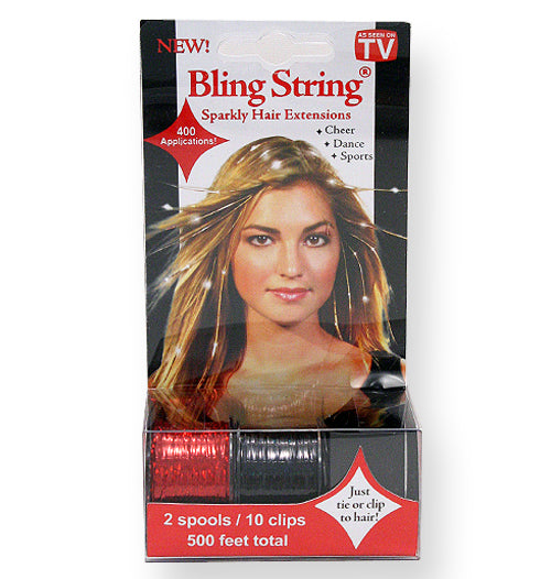 Bling String® - Hologram Red + Black