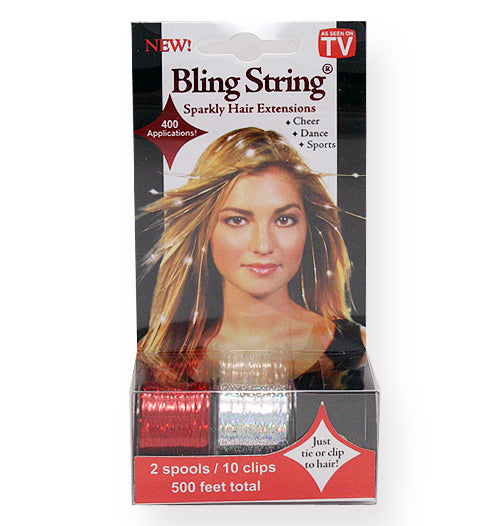 Bling String® - Hologram Red + Silver