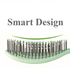 Mia® Smart Brush™ - detangling, eco and bio friendsly brush - gray color - by Mia Beauty