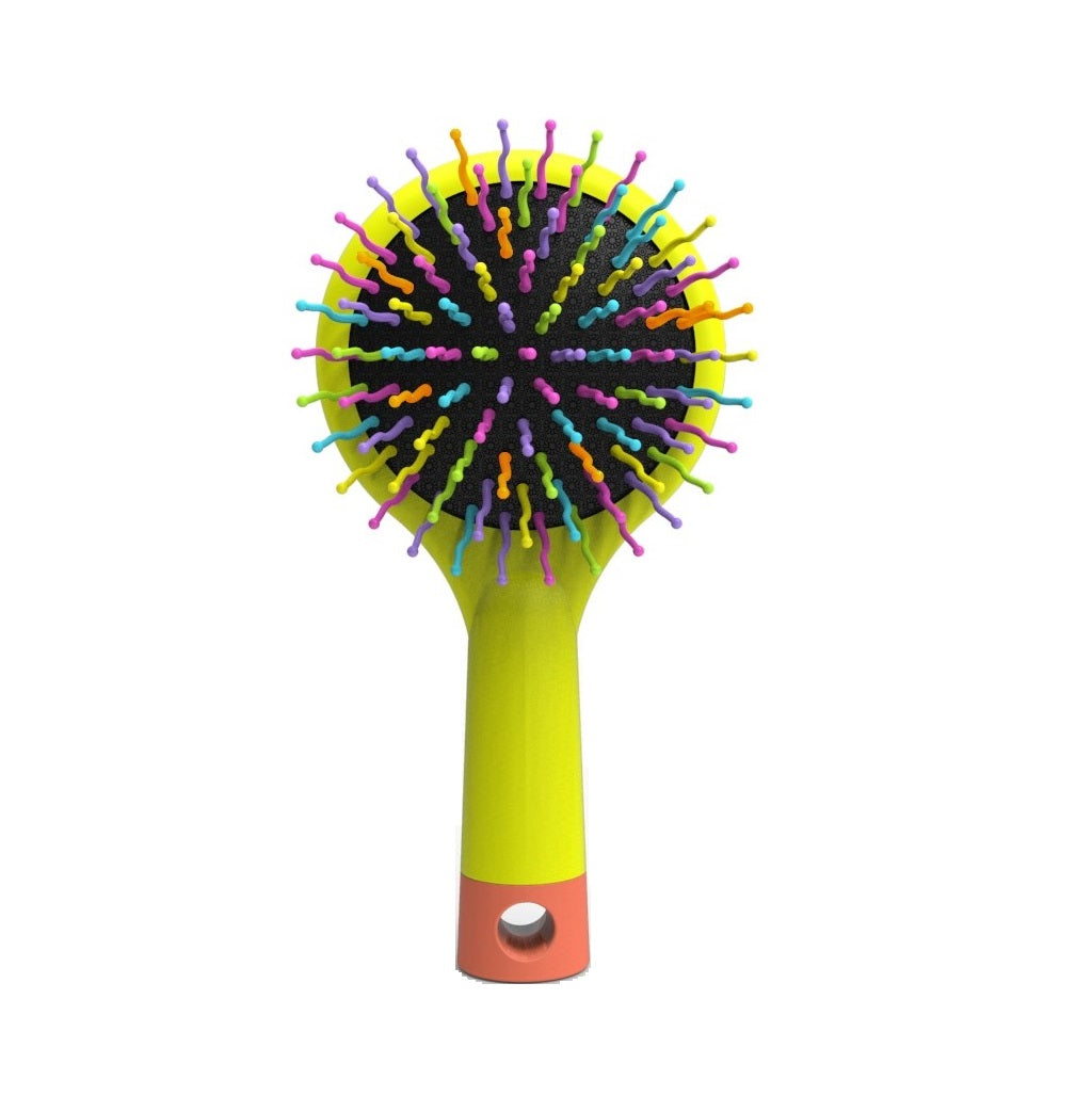 Happy Brush™ + Mirror - Yellow