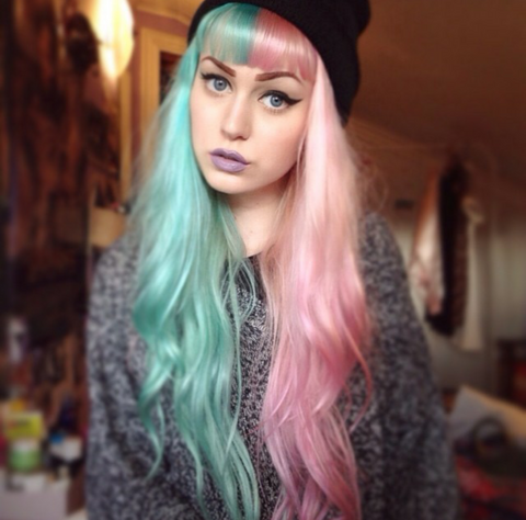 Multi Colored Hair Overtone Haircare