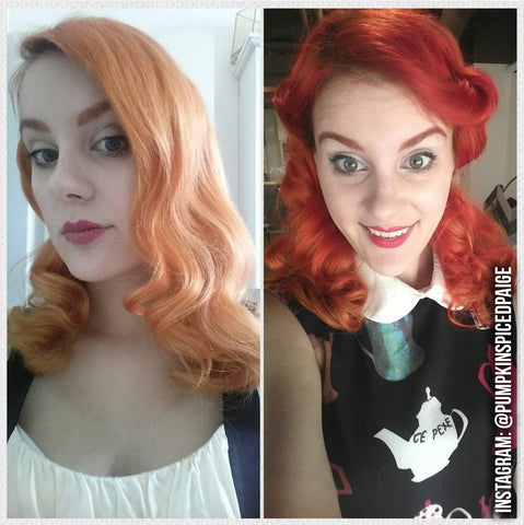 Customer Shots Before And Wow Overtone Haircare