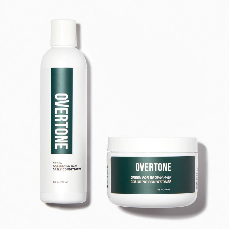 oVertone Green for Brown Healthy Color Duo