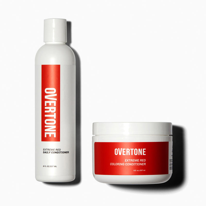 oVertone Extreme Red Healthy Color Duo