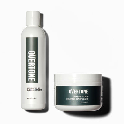 oVertone Extreme Silver Coloring Conditioner and Daily Conditioner