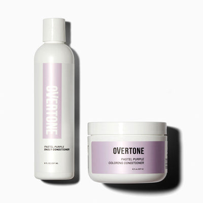 oVertone Pastel Purple Hair Coloring Conditioner and Daily Conditioner