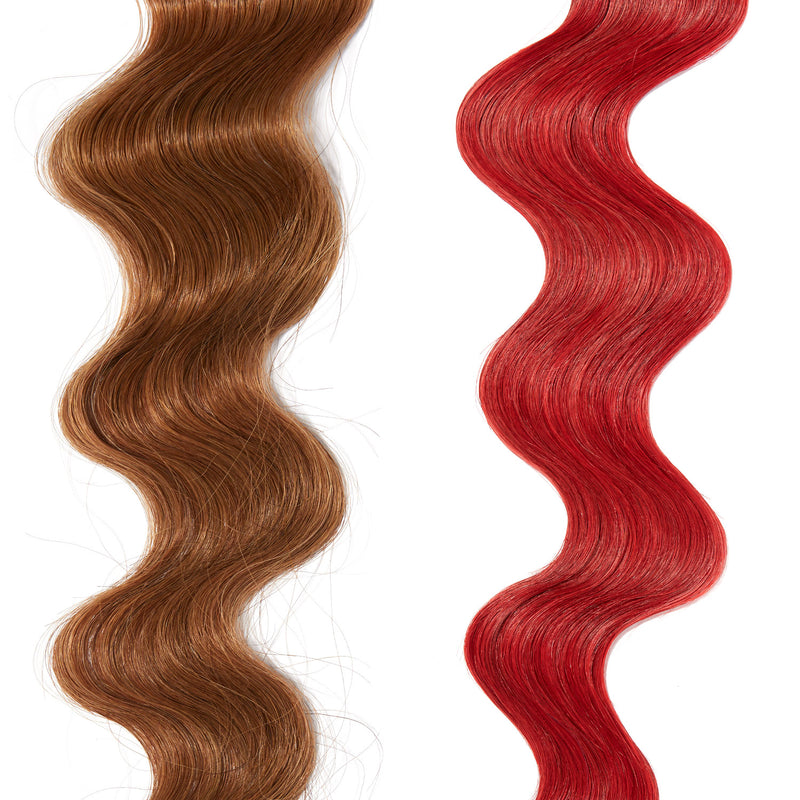 dark red hair color for brown on red hair