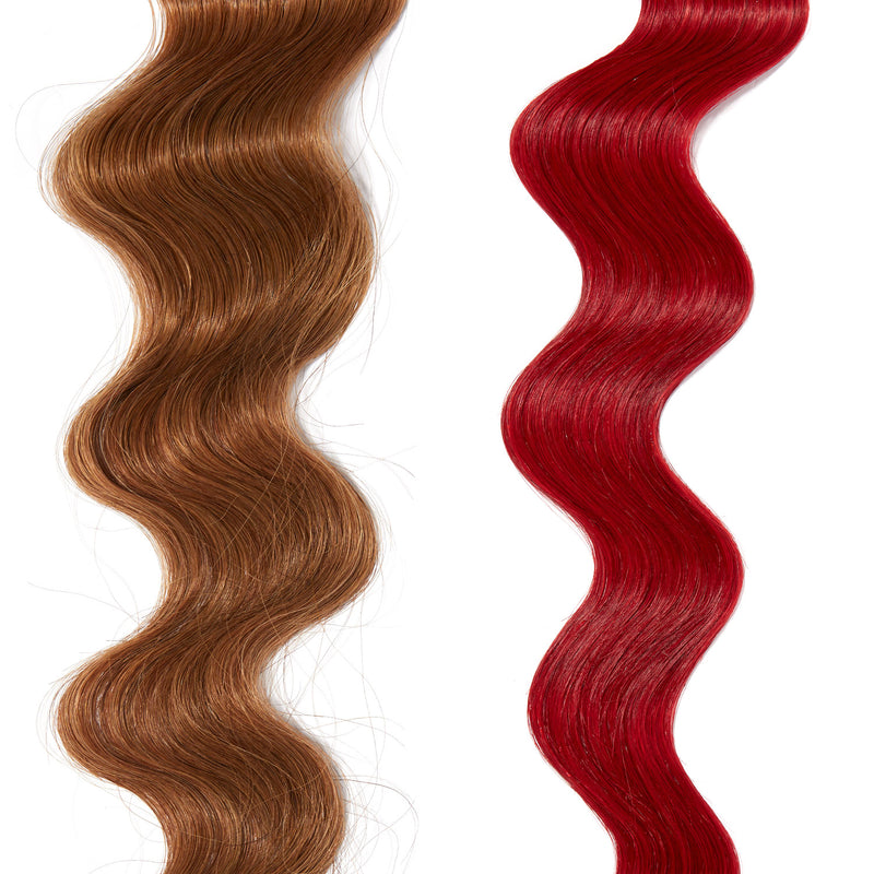 deep red hair color on red hair