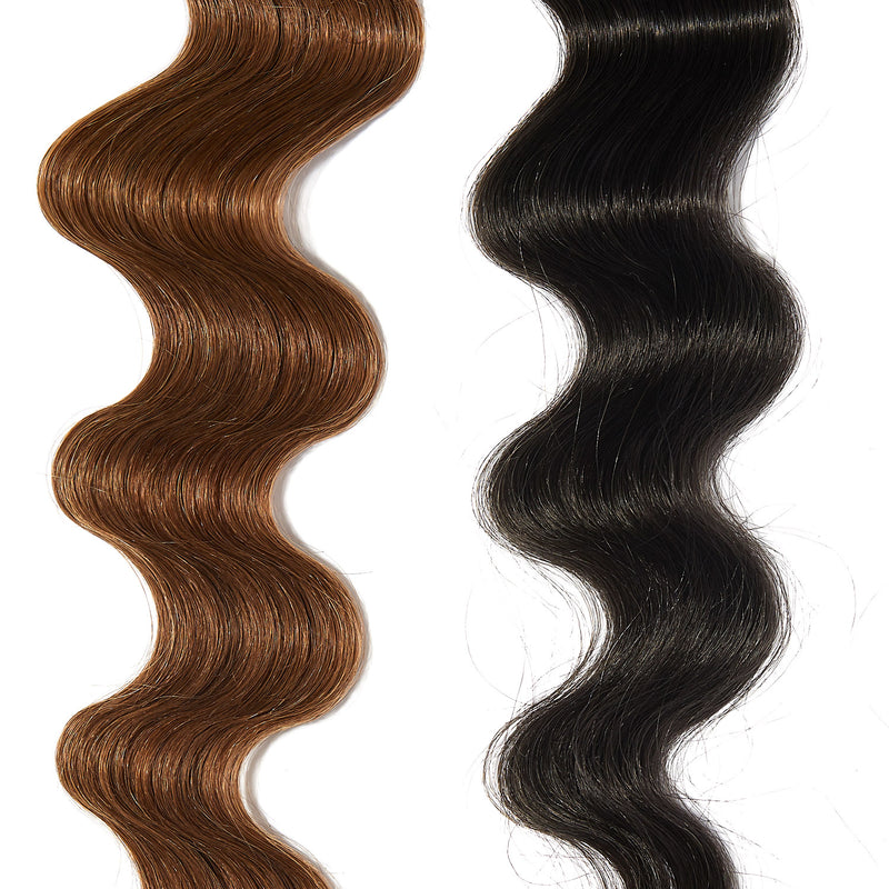 charcoal gray hair color on light brown hair