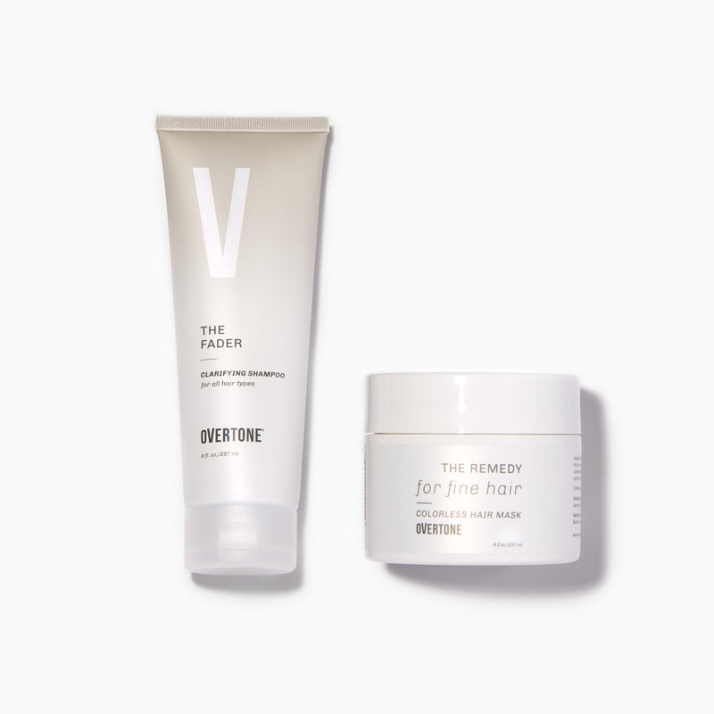 oVertone The Fader + The Remedy For Fine Hair Set