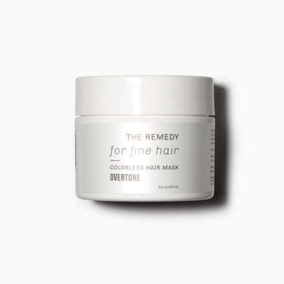 oVertone The Remedy for Fine Hair Colorless Hair Mask