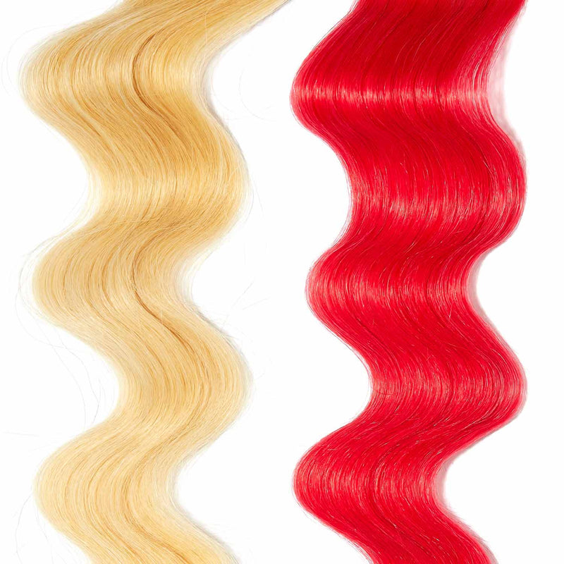 rose gold hair color for brown on platinum blonde hair
