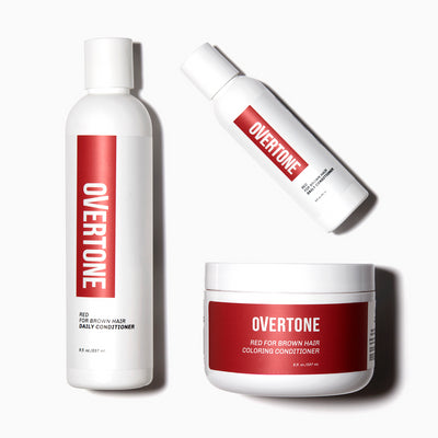 oVertone Red for Brown Complete System