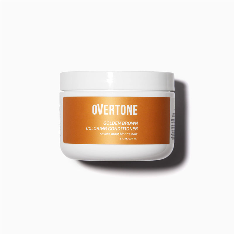 oVertone Golden Brown Coloring Conditioner
